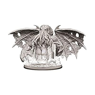 WizKids Pathfinder Deep Cuts Unpainted Miniatures: W9 Star-Spawn of Cthulhu: Toys & Games