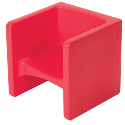 Childrens Factory CF910-008 Chair Cube - Red