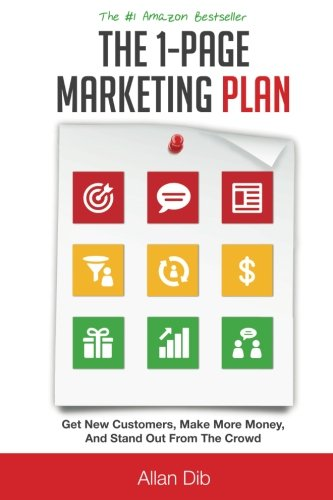 41sj9UFVtRL - The 1-Page Marketing Plan: Get New Customers, Make More Money, And Stand out From The Crowd