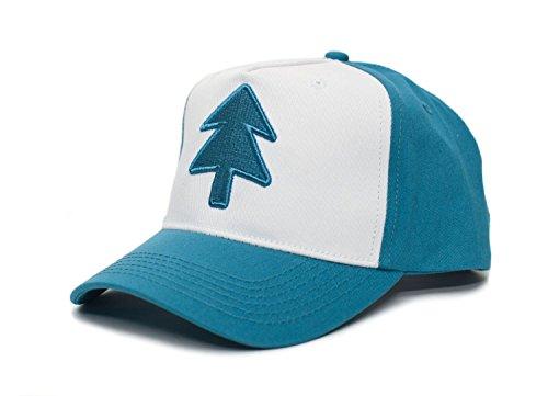 Posse Comitatus Dipper Aqua Blue Pine Hat Embroidered Adult Curved Baseball Cap