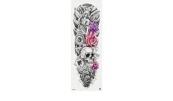7pcs Infierno Patrón Monster pieza tatuaje tatuaje pieza de Buda ...