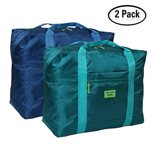 Foldable Travel Duffel Bag 20'' Lightweight Waterproof Travel Luggage Bag(Pack of 2) - Foldable Bag