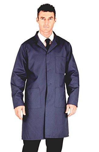"Navy Warehouse Coat / Hygiene (Chest size - 46"" (116cm))"