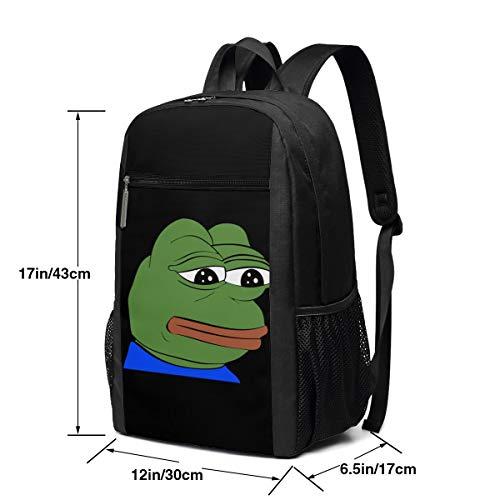 Amazon.com: Pepe The Frog - Mochila para ordenador portátil ...