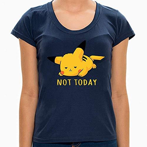 Camiseta Pikachu Not Today - Feminina e Masculina