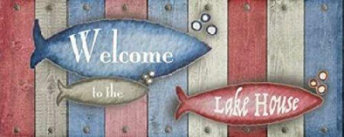 24 x 48 Lake Place II Poster Print by Andi Metz