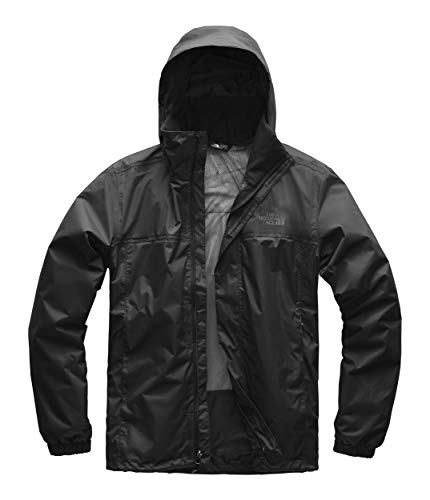 (The North Face Men's Resolve 2 Jacket - TNF Black & TNF Black - L)