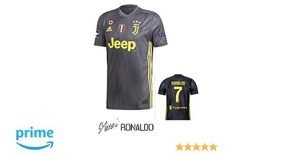 SporteCO Home Fan Soccer Jerseys for Men from Soccer European Teams Such as Juventus Ronaldo - PSG Neymar - Real Madrid Modric - Barcelona FC Messi