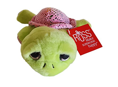 (Li'l Peepers Russ Plush Splash Sea Turtle)