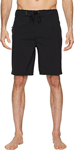 Hurley Men's Phantom One & Only 20'' Stretch Boardshorts Black 36 by Hurley