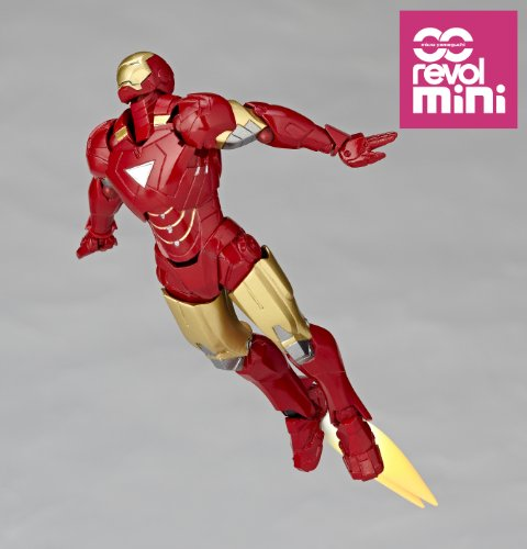 Revolmini Iron Man 2 Iron Man Mk VI 4″ Action Figure RM003