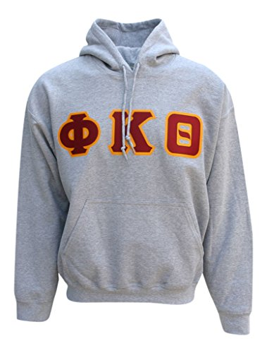 Mega Greek Mens Phi Kappa Theta Hooded Sweatshirt Large ()