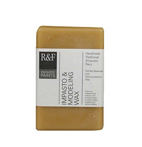 R & F Handmade Paints Impasto Modeling Wax 333 ml cake