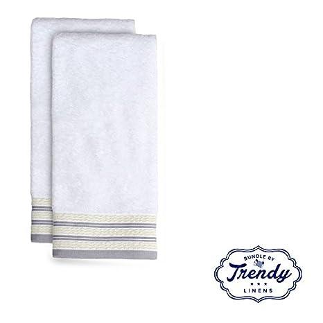 Gen X Collection – Juego de 2 toallas de mano de – Exclusive – Juego de