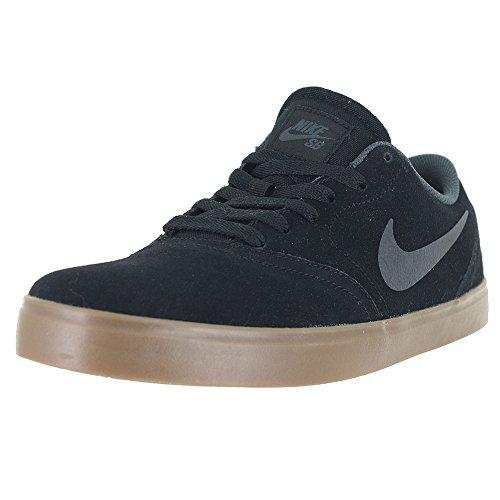 Nike Sb Check Calzatura, Uomo Black/Gum Dark Brown