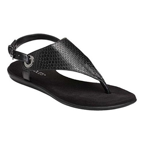 Black Conchlusion Exotic Women's Aerosoles Sandal Gladiator I7gvqxw