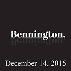 Bennington, December 14, 2015