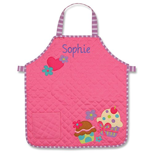 Personalized Stephen Joseph Quilted Cupcake Apron with Embroidered Name by Stephen Joseph
