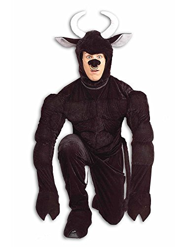 Forum Novelties Men's Toro The Terri-Bull Costume, Black, Standard