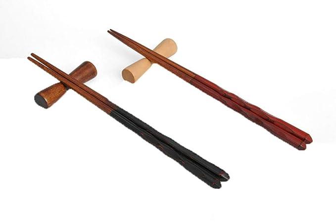 Wenquan,10 Palillos en Forma de mancuerna, Mancuernas, Palillos, Palillos, Almohadas(Color:Marrón): Amazon.es: Hogar