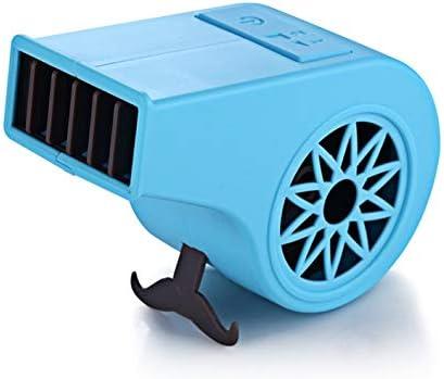 Wu5dra Mini 360 Degree Portable Fan Mini Fan USB Fan Table Fan for Toddlers Color : Blue