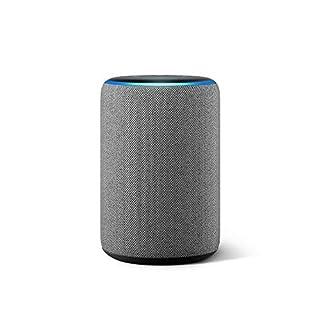 Echo (3rd Gen) - Smart speaker with Alexa - Heather Gray
