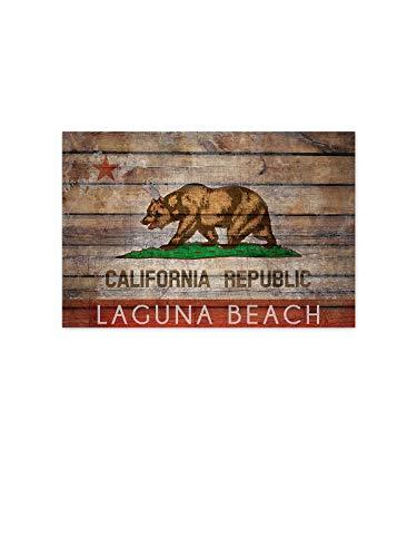 Funny Ugly Christmas Sweater California Flags Poster Wall Art Laguna Beach Home Decor Prints 32