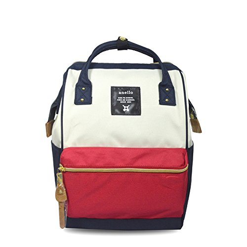 [Anero] [Official] Poly Canvas Cap Mini Backpack AT-B0197B Tricolor (Bag Tri Color Sport)