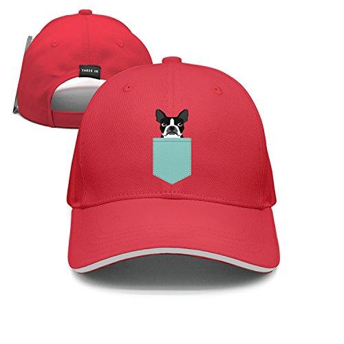 lsawdas Boston Terrier and French Bulldog Sandwich Cap Visor Hats (Cap Womens Terrier)