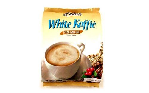 (Kopi Luwak White Koffie 3 in 1 Instant Coffee (Premium Low Acid Coffee Luwak / 20-ct) - 13.5oz (pack of)