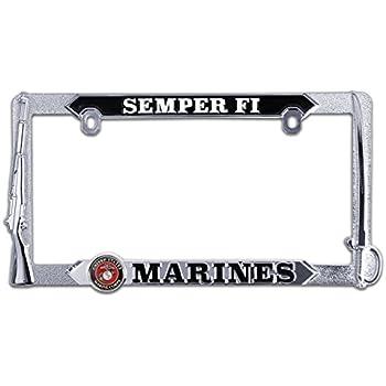 Amazon.com: Marines License Plate Frames Variation (Marines): Automotive