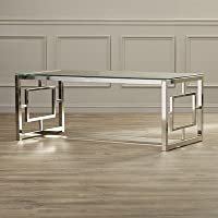 Kaster Coffee Table, 19 H x 47.25 W x 23.75 D