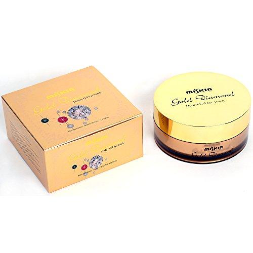 [Сделано в Корее] Мискин 60 листов золота и алмазный Hydro-гель для век Patch маска для глаз