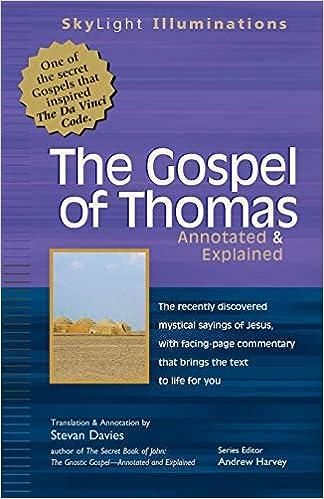 Gospel of Thomas: Annotated & Explained Skylight ...