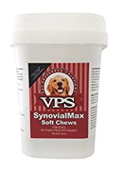 VPS SynovialMax Soft Chews Be sure you're giving your dog the very best. Premium VPS SynovialMax nutritional supplement combines pharmaceutical grade ingredients to benefit your best friend's overall health. And it's a great-tasting, soft che...