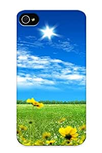 For Iphone 6 4.7 Fashion Design Green Field Case-jocvqx-4329-rhyqljg / Cover Specially Made For Thanksgiving Day's Gift