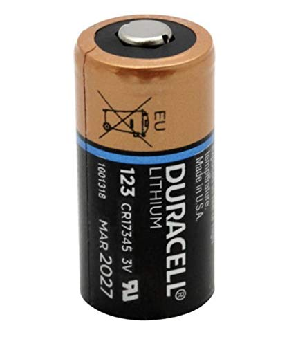 - Duracell DL123 Ultra 3 Volt Lithium 123 Battery 12 Pack