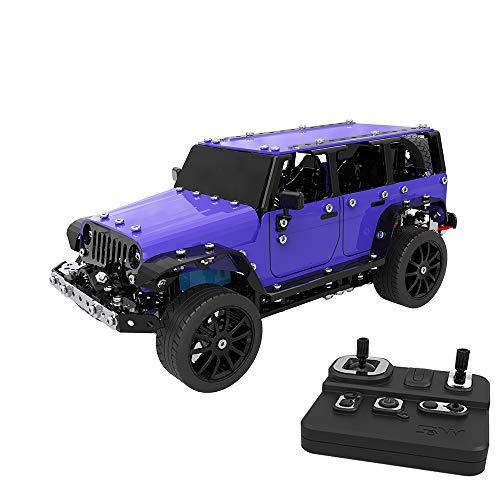 Goolsky ラジコン車 SW 1/16 不銹鋼 2CH モートコントロール DIY 組み立て Jeep ジープ RCオフロード カー 子供の商品画像