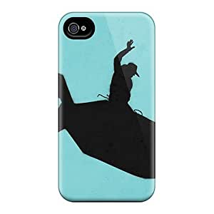 New Arrival Cowboy Riding A Bomb For Iphone 4/4s Case Cover