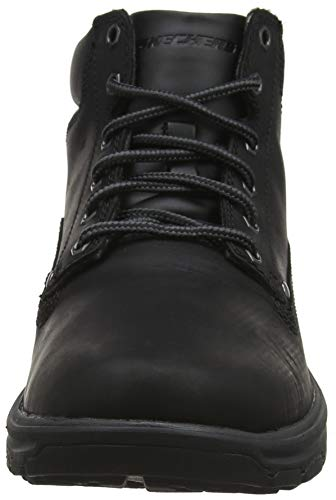 Black Negro Segment Bbk Garnet Skechers Botas Hombre para Chukka x01xUwTq