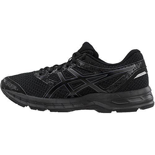 carbon amp; t6e3n 4 black Negro Hombres Zapatos Asics excite Medios Gel Talla Tenis Para Bajos black Cordon qwZxYC