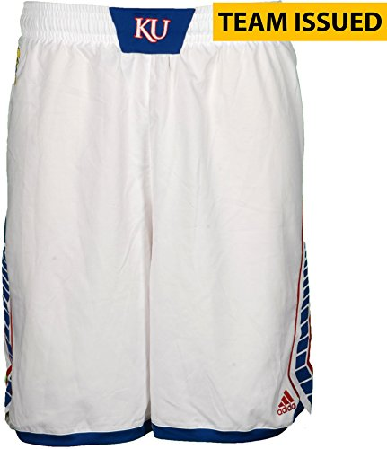 2013 Basketball Shorts (Kansas Jayhawks Team-Issued Women's Basketball White Shorts From The 2013-2016 Seasons - Size 2XL+0 - Fanatics Authentic Certified)