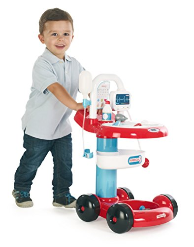 Amazon.com: SMOBY KIDS MEDICAL HOSPITAL TOY TROLLEY DOCTOR NURSE PLAY CART by Smoby: Toys & Games