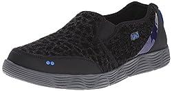 RYKA Women's Thriller Slip-On Sneaker, Brown/Bronze, 7 M US