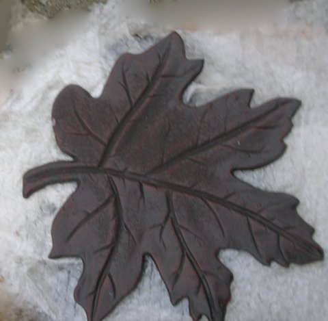 Maple Leaf Stepping Stone