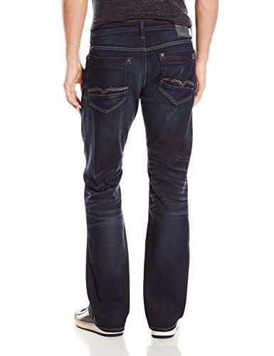 Buffalo David Bitton Men's King Slim Boot Cut Jean In Dark and Rigid, Dark/Rigid, 32 x 30 by Buffalo David Bitton (Image #2)