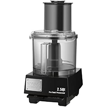 Waring Commercial WFP11S Batch Bowl Food Processor with LiquiLock Seal System, 2-1/2-Quart