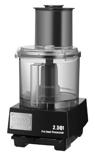 Waring Commercial WFP11S Batch Bowl Food Processor with LiquiLock Seal System, 2-1/2-Quart (Best Full Size Food Processor)