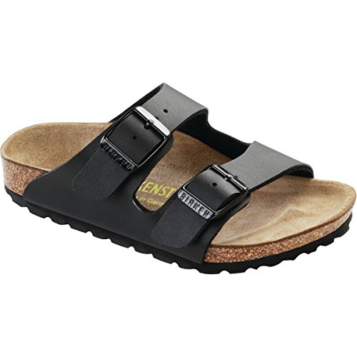 Price comparison product image Birkenstock Unisex Arizona Slide Sandal, black, 27 EU/9 M US Little Kid