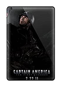 New Style Tpu Mini/mini 2 Protective Case Cover/ Ipad Case - Captain America